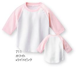 204-BRB ベビーラグランベースボールTシャツ