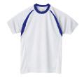 306-ART  4.4オンス カラーブロックドライTシャツ
