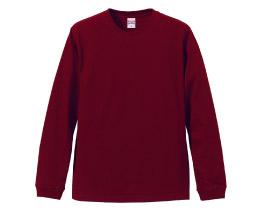 5011 5.6オンス ロングスリーブTシャツ(リブ付)