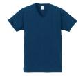 5496 4.7オンスファインジャージーVネックTシャツ